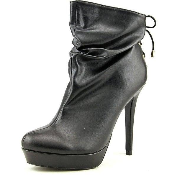 Thalia Sodi Womens HONRA Leather Closed Toe Ankle Fashion Boots