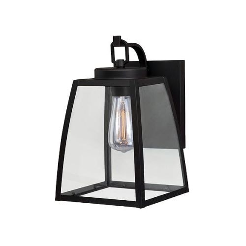 Vaxcel Lighting T0209 Granville 1 Light Outdoor Wall Sconce with Clear Glass Shade