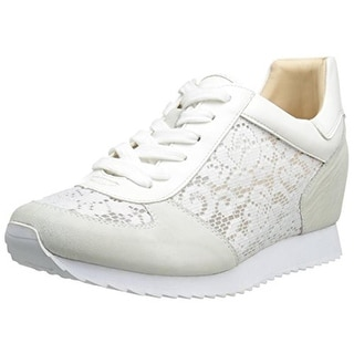 Nine West Womens Telly Suede Fashion Sneakers