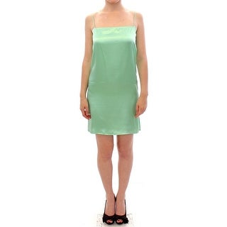 Versace Jeans Light Green Coctail Dress - it40