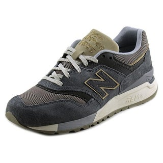 New Balance WL997 Women Round Toe Suede Gray Sneakers