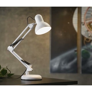 "Link to Tache 18"" Spring Balanced Swing Arm Desk Lamp with Metal Clamp Similar Items in Kids Lamps & Lamp Shades"
