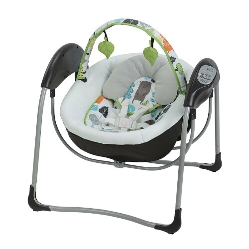 Graco Glider Lite Bear Trail Baby Swing