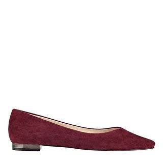 Marc Fisher Womens Synal Pointed Toe Slide Flats