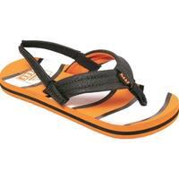Reef Boys AHI SlingBack Bungee Flip Flops - orange fish - 5-6 toddler boys