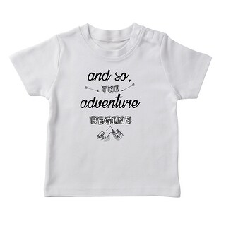 And So The Adventure Begins Girl's T-shirt