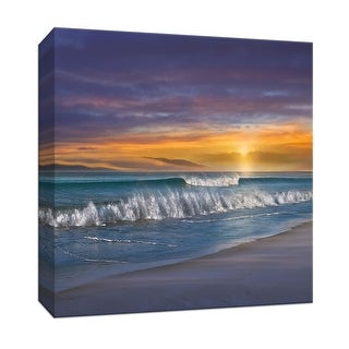"""PTM Images 9-147247  PTM Canvas Collection 12"""" x 12"""" - """"Endless Summer"""" Giclee Beaches Art Print on Canvas"""