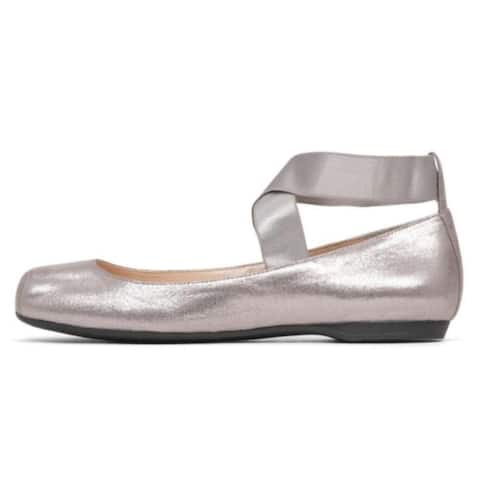 91e2e482ced Jessica Simpson Womens Mandalaye Fabric Square Toe Ankle Wrap Ballet Flats