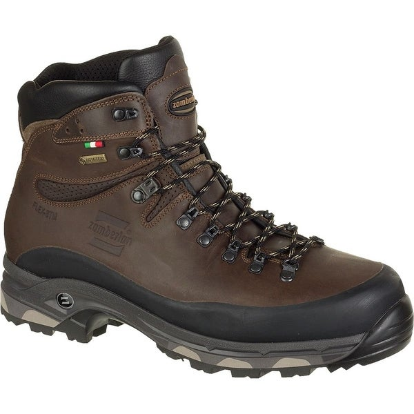 Zamberlan 1006 Vioz Plus GTX RR WL Wide-lasted Hiking Boot, Mens - waxed chestnut