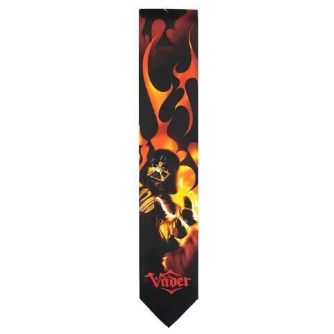 Star Wars Men's Darth Vader Force Regular Neck Tie - Black