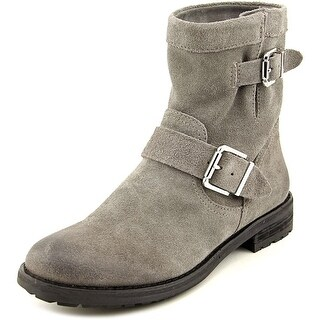 Vince Camuto Rubina Women  Round Toe Suede Gray Boot
