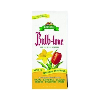 Espoma BT4 Bulb-Tone Plant Food With Bio-Tone Microbes, 4 Lb, 60 Sq-Ft