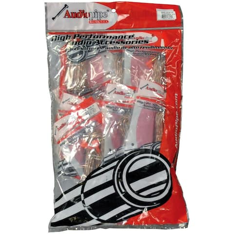 Nippon bms-g-25 audiopipe rca cable 25 ft. 10pack *bmsg25*
