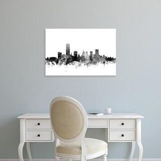 Easy Art Prints Michael Tompsett's 'Oklahoma City Skyline' Premium Canvas Art