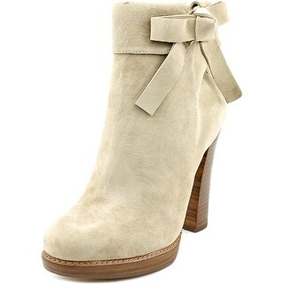 Nina Nell Women Round Toe Suede Gray Ankle Boot