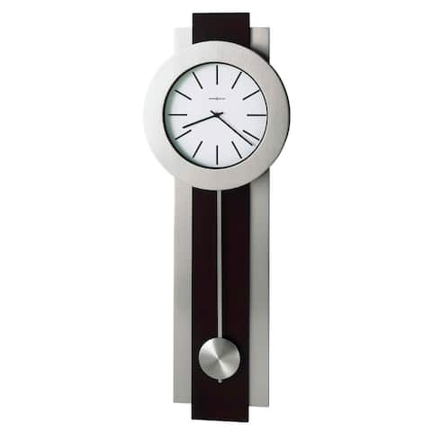 Howard Miller Bergen Plastic and Glass Wall Clock