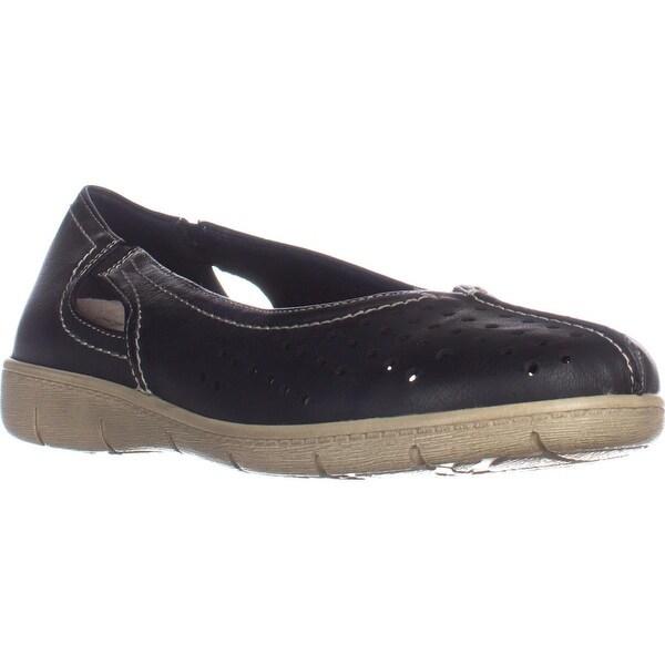 Easy Street Tobago Comfort Flat Loafers, Black