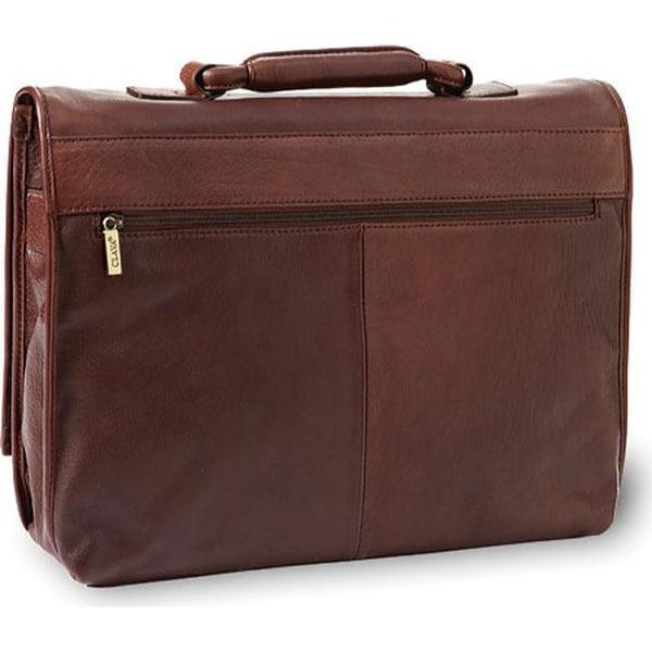 Clava Tuscan Flap Briefcase Tuscan Black