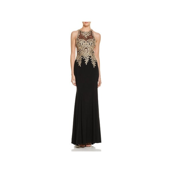 ef1ef28f Shop Avery G Womens Special Occasion Dress Lace Embroidered - Free ...