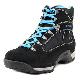 Dolomite Hawk Pro Men Round Toe Leather Black Hiking Boot