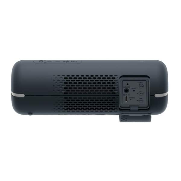 Shop Sony Srs Xb22 Extra Bass Portable Bluetooth Speaker Black Bundle Overstock 28431996
