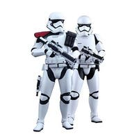 Star Wars First Order Officer and Stormtrooper 1:6 Collectible Figure Set - multi