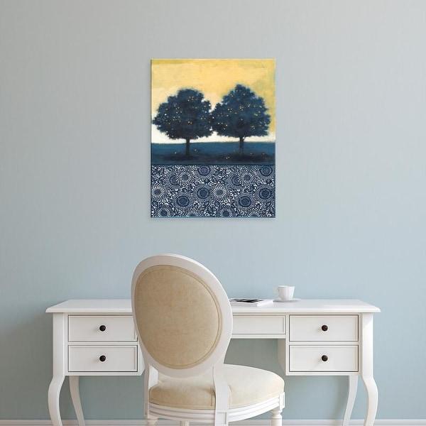 Easy Art Prints Norman Wyatt's 'Blue Lemon Tree II' Premium Canvas Art