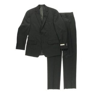 MICHAEL Michael Kors Mens Wool 2PC Two-Button Suit - 48L