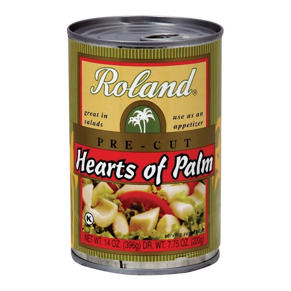Roland Hearts of Palm - Pre - Cut - Case of 24 - 14 oz.