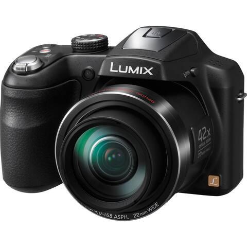 Panasonic LUMIX DMC-LZ40 Digital Camera (Black)