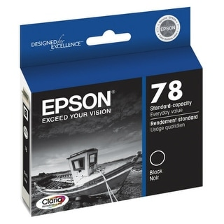 Epson 78 Claria Ink Cartridge - Black Ink Cartridge