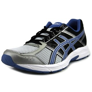 Asics Gel-Contend 4 GS Men 4E Round Toe Synthetic Black Running Shoe