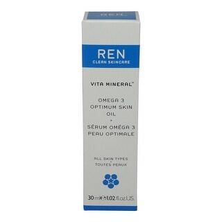 REN Skincare Vita Mineral Omega 3 Optimum Skin Serum-1.02 Oz