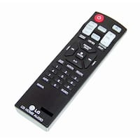 OEM LG Remote Originally Shipped With: CM6520, CM6520-AP