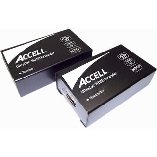 Accell E090C-005B Accell UltraCat Video Console/Extender - 1 Input Device - 1 Output Device - 164 ft RangeNetwork (RJ-45)HDMI