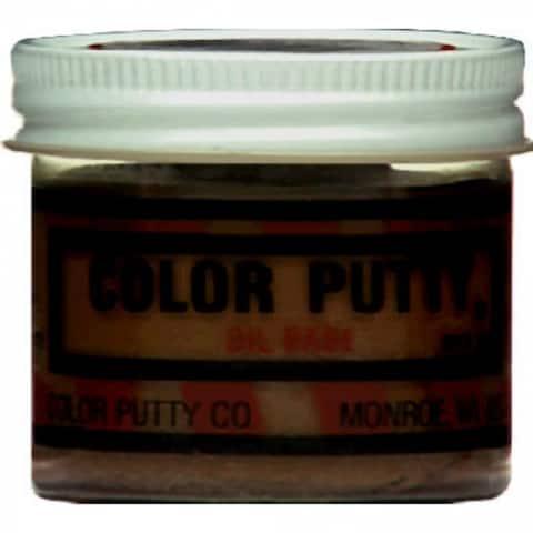 Color Putty 144 Oil Based Wood Filler Putty, Teakwood, 3.68 Oz