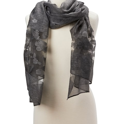 Ladies Fashion Viscose Scarf Shawl Wrap Stole Soft Scarves Lightweight Beautiful Hair Neck for Girls - Large