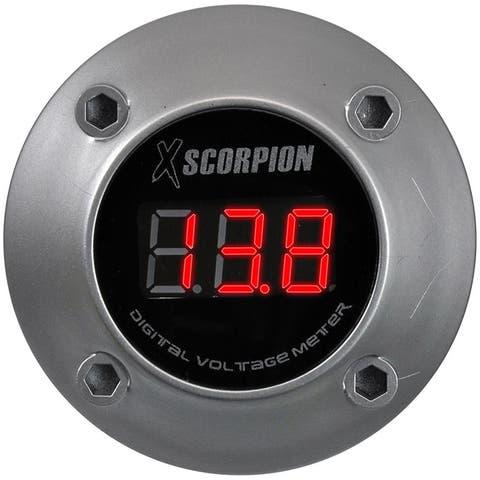 Xscorpion dvm3rs xscorpion voltmeter digital 3 digit led display silver