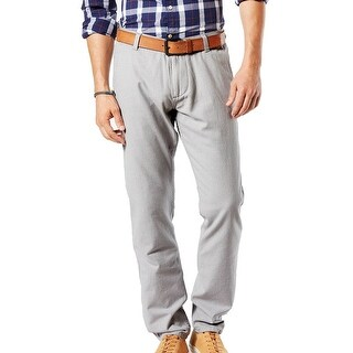 Dockers NEW Gray Mens Size 29x30 Stretch Athletic-Fit Flat Front Pants