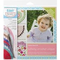 Edgit Piercing Crochet Hook & Book Set-Lullaby Crochet Edges