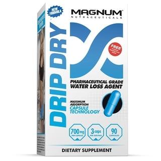 Magnum Nutraceuticals Drip Dry 90 Capsules - Strong Natural Diuretic