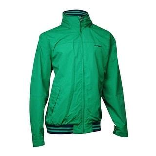Tommy Hilfiger Men's Regatta Jacket (XXL, Verdant Green)