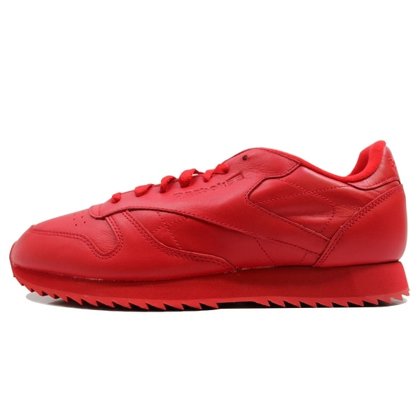 Reebok Men's Classic Leather Ripple Mono Red/Red AR2349