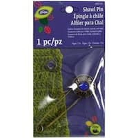 Blue Stone - Loran Shawl Pin