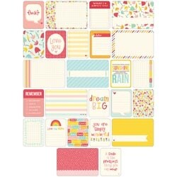 Girl - Project Life Themed Cards 60/Pkg