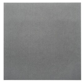 Beadsmith Ultra Suede For Beading Foundation And Cabochon Work 8.5x8.5 Inches - Grey