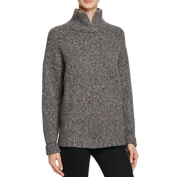 French Connection Womens Pullover Sweater Knit Turtleneck