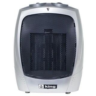 King Electric PH-2 1500 Watt Portable Ceramic Heater - Silver