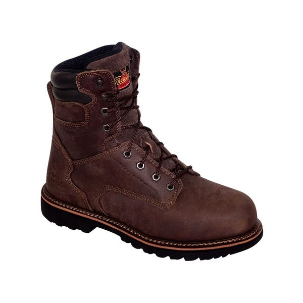 """Thorogood Work Boots Adult V Series 8"""" Safety Toe EH Brown 804-4279"""