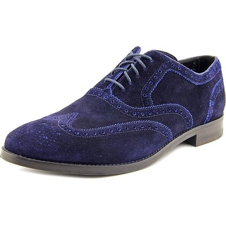 Cole Haan Cambridge Wing.OX Men Wingtip Toe Suede Oxford
